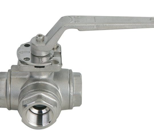 Stainless Steel 3-Way Valves