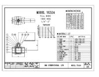 YK524 Stainless Steel