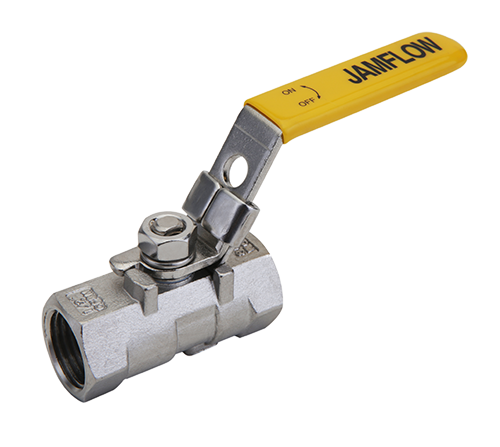 1-PC Stainless Steel Threaded Ball Valves